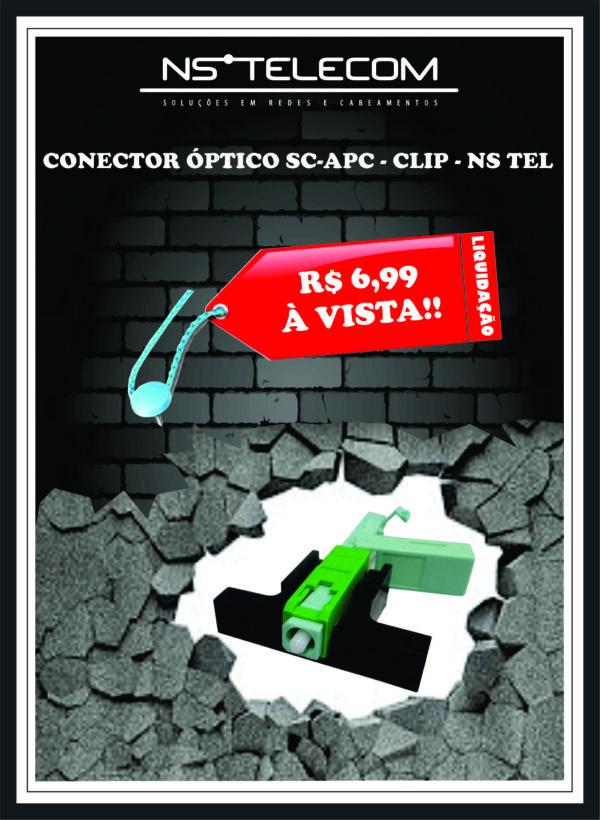 CONECTOR SC – APC – CLIP