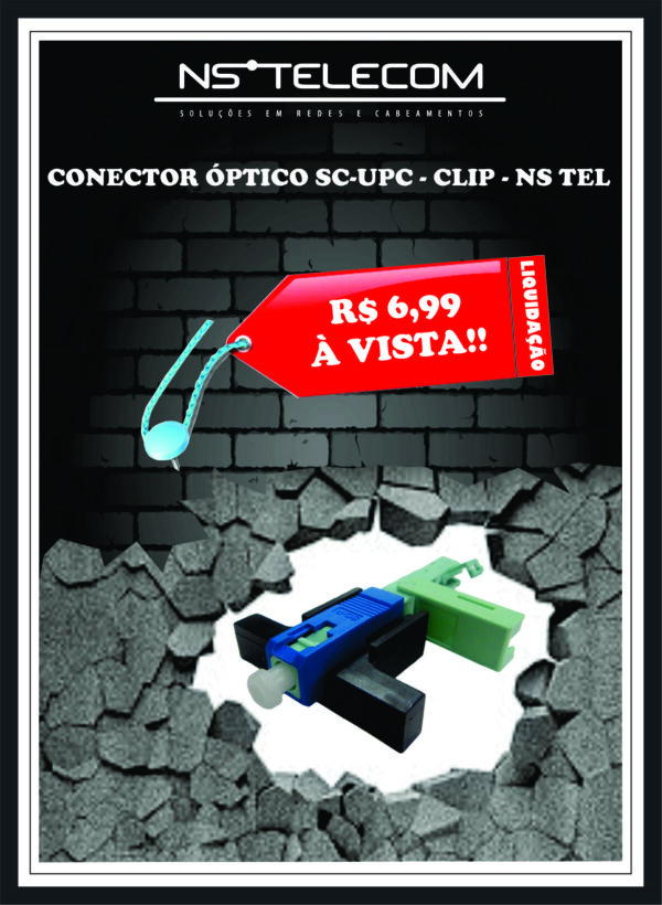 CONECTOR SC – UPC – CLIP