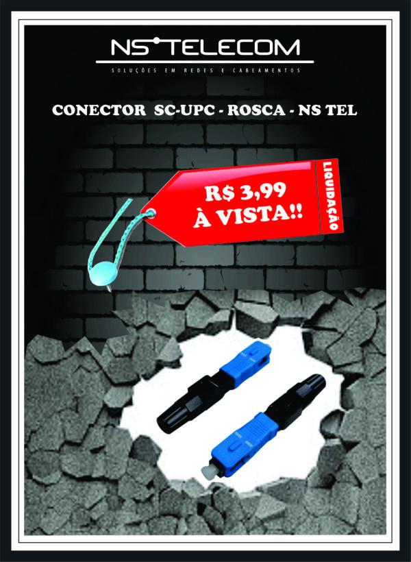 CONECTOR SC – UPC – ROSCA