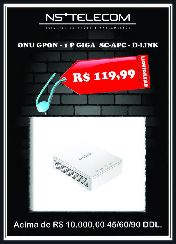 ONU – GPON – D-LINK